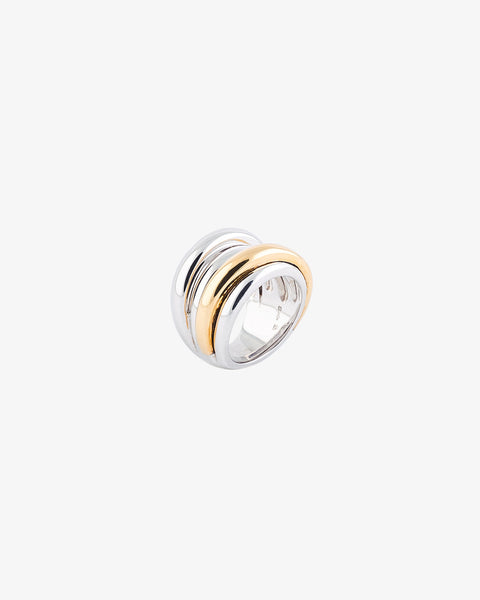 White & Yellow Gold Ring II