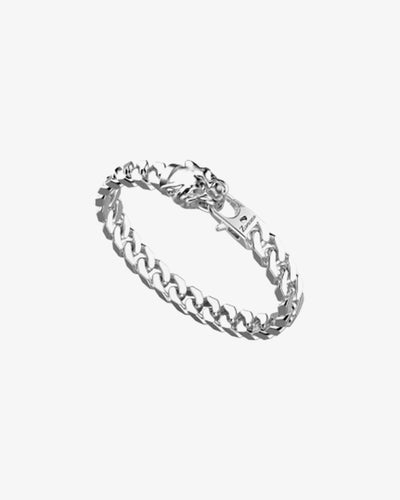 Panther Silver Chain Bracelet