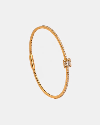 Pink Gold and Diamond Bracelet