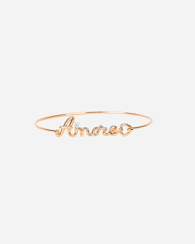 Rose Gold and Diamond Bracelet IV