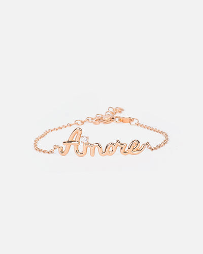 Rose Gold and Diamond Bracelet II