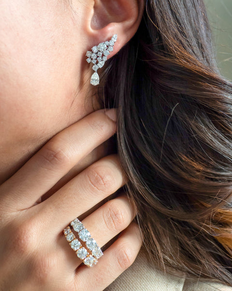 Diamond Earrings IV