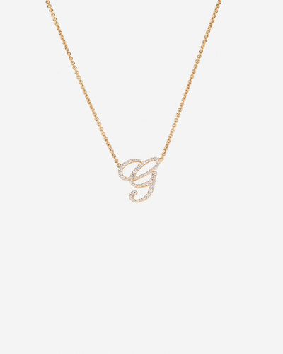 Necklace Letter G
