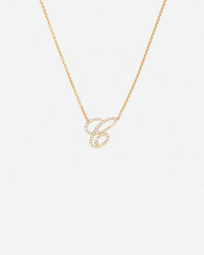 Necklace Letter C