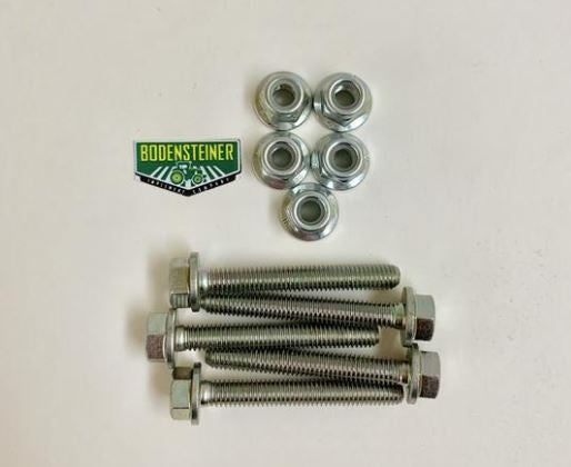 19M7834 14M7397 John Deere OEM Auger Shear Bolt and Lock Nut Kit - Set of 5