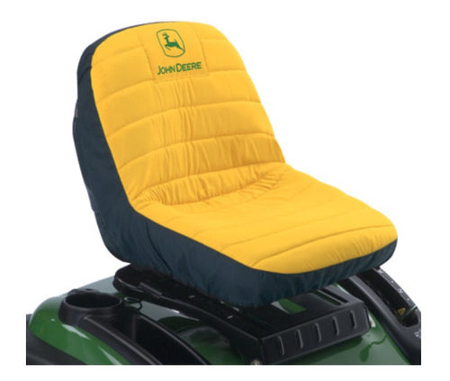 LP22704 John Deere Licensed 11-inch Riding Mower Seat Cover