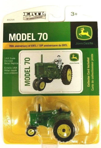 LP53345 John Deere Licensed 1/64 Model 70 Tractor 70th Anniversary Edition