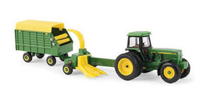LP67313 John Deere ERTL 1/64 Forage Harvesting Set
