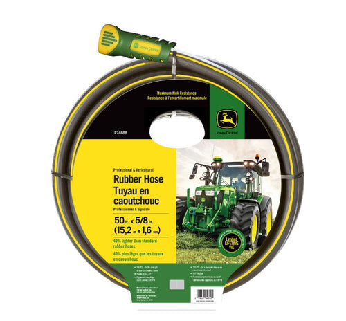 LP74888 John Deere Licensed Swan Rubber Hose - 50 Feet