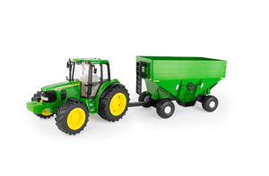 LP75986 John Deere ERTL 1/16 Big Farm 7430 Tractor & Gravity Wagon