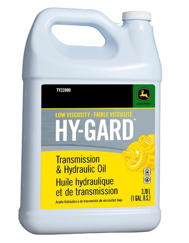 TY22000 John Deere OEM Low Viscosity Hy-Gard Hydraulic Oil - Gallon