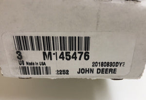 M145476 John Deere OEM Mower Deck Blades - Set of 3