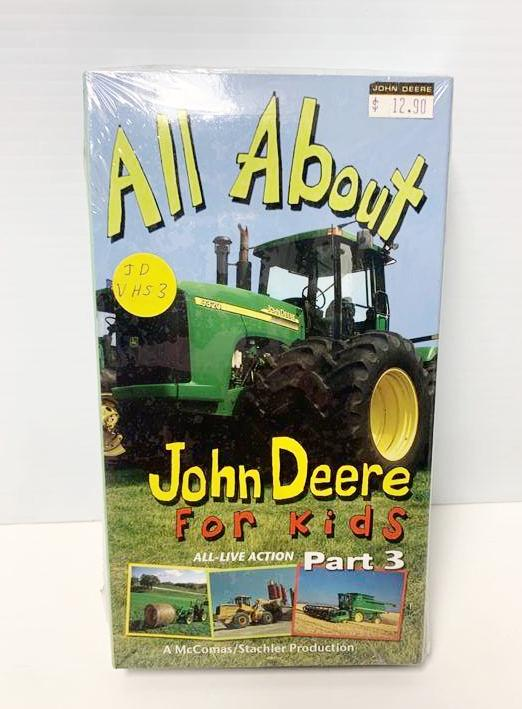 JDVHS3 All About John Deere for Kids Part 3 VHS Tape