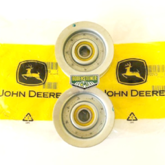 GY22172 John Deere OEM 48 inch Mower Deck Belt Idler - Set of 2