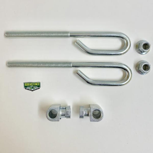 GX21718 GX24864 14M7400 John Deere OEM Deck Lift Bolt & Trunnion Set - Set of 2