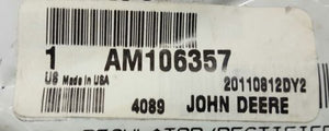 AM106357 John Deere OEM Voltage Regulator Rectifier