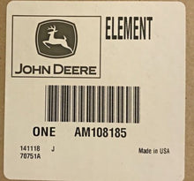 AM108185 John Deere OEM Inner Air Filter Element