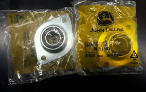 M151395 John Deere OEM Snowblower Auger Bearing - Set of 2