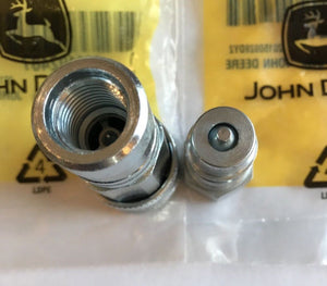AM102487 AM102420 John Deere OEM Hydraulic Coupler Kit