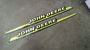 M126040 M126041 John Deere OEM Upper Hood Decal Kit