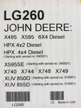 LG260 John Deere OEM Home Maintenance Kit