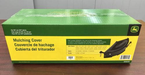 GY00115 John Deere OEM Mulch Cover For 42€-Inch Deck