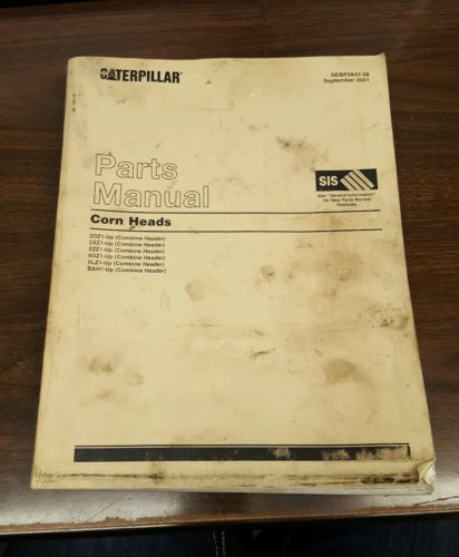 SEBP2843-28 Caterpillar Corn Head Parts Manual