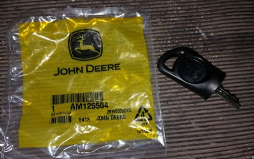 AUC12681 John Deere OEM Ignition Key
