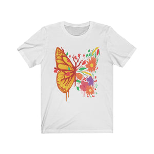 Flower Butterfly T Shirt