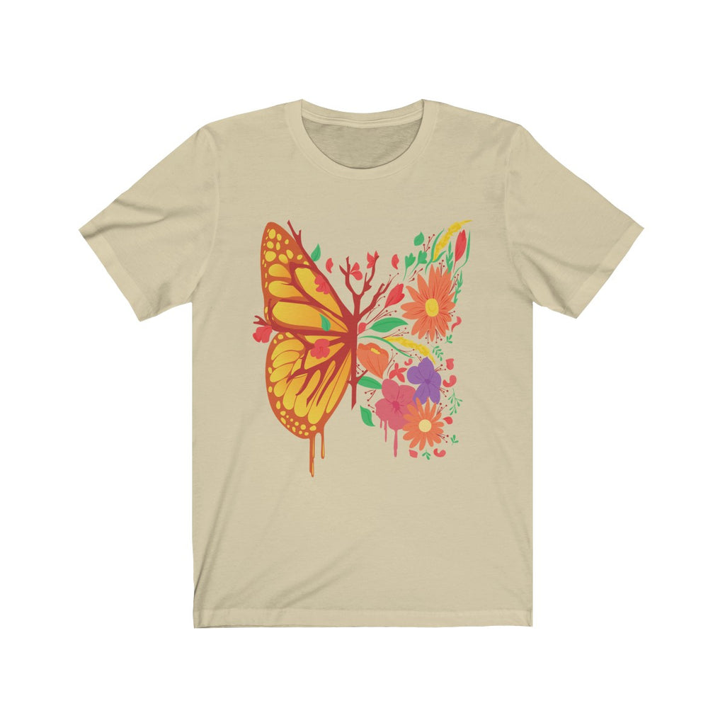 Butterfly Flower T-Shirt · Unique & Stylish Floral T-Shirt