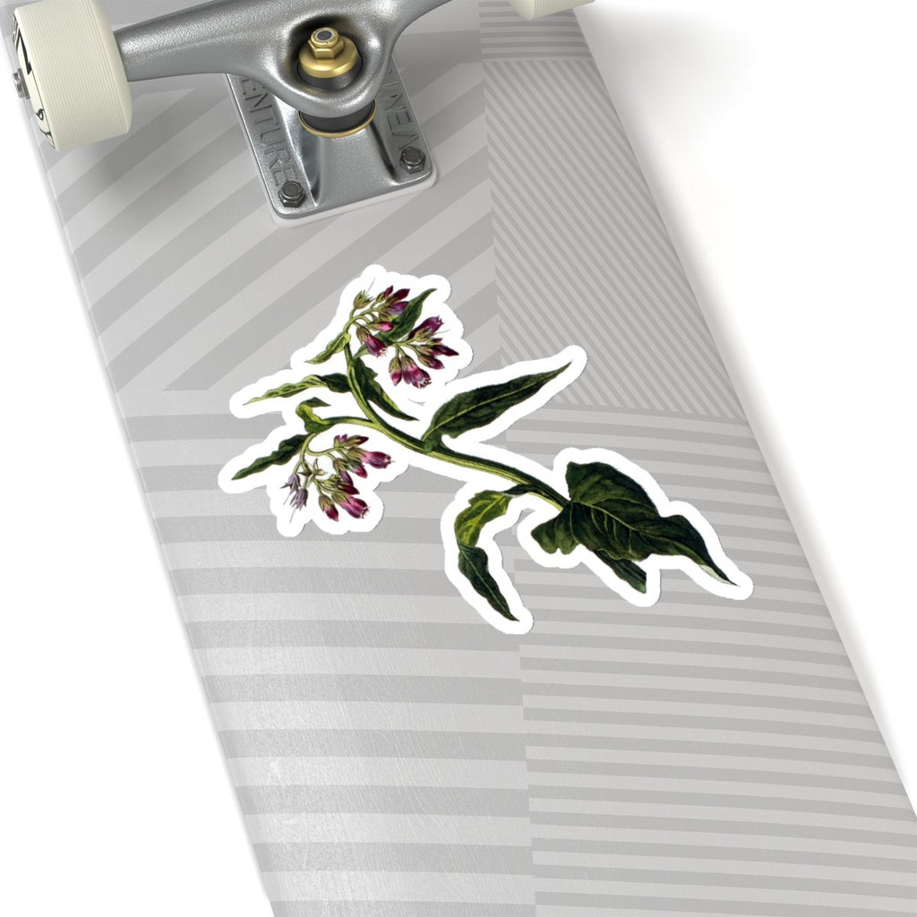 Comfrey die cut stickers