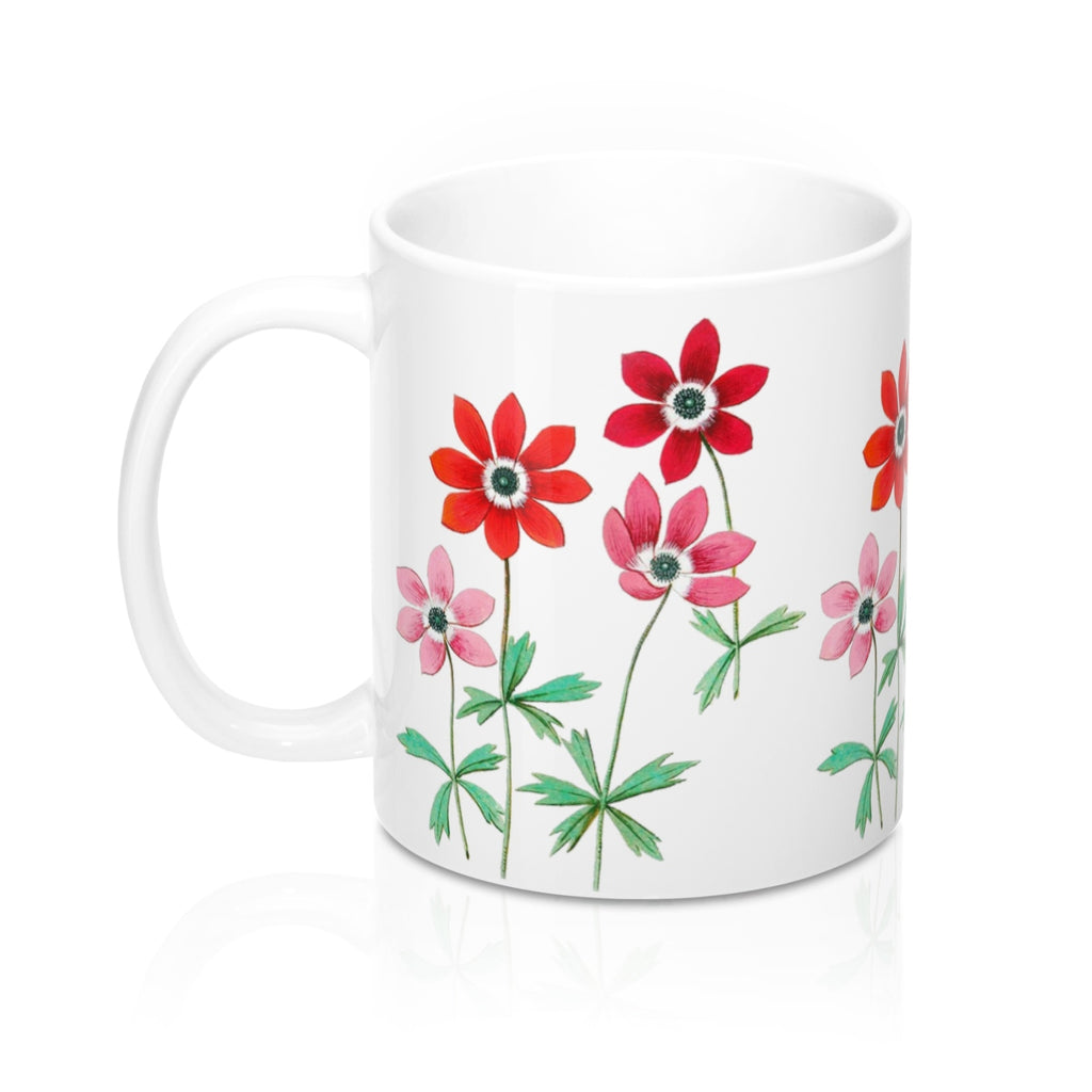 Anemone Flowers Coffee Mugs