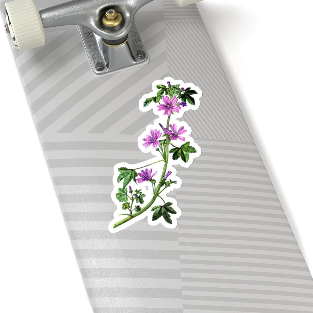 Common Mallow die cut sticker
