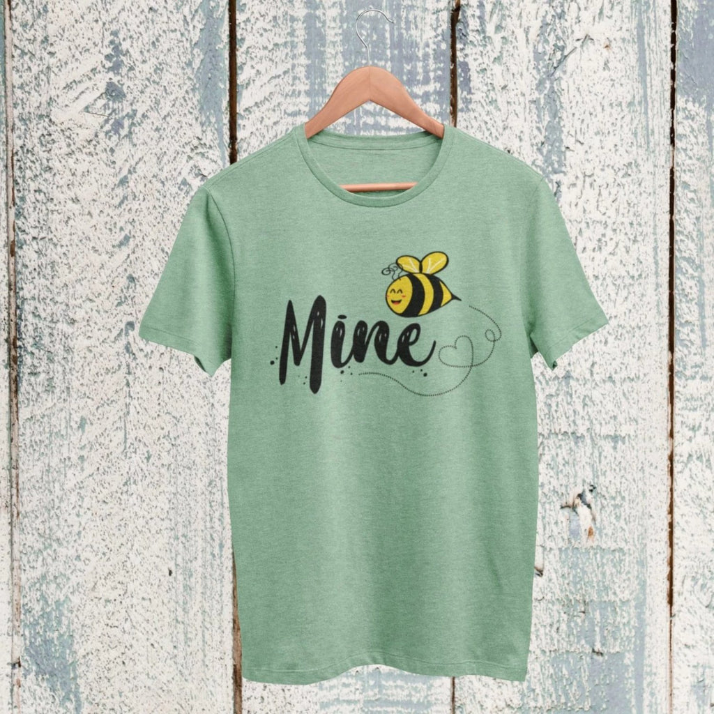 bee be mine t shirt