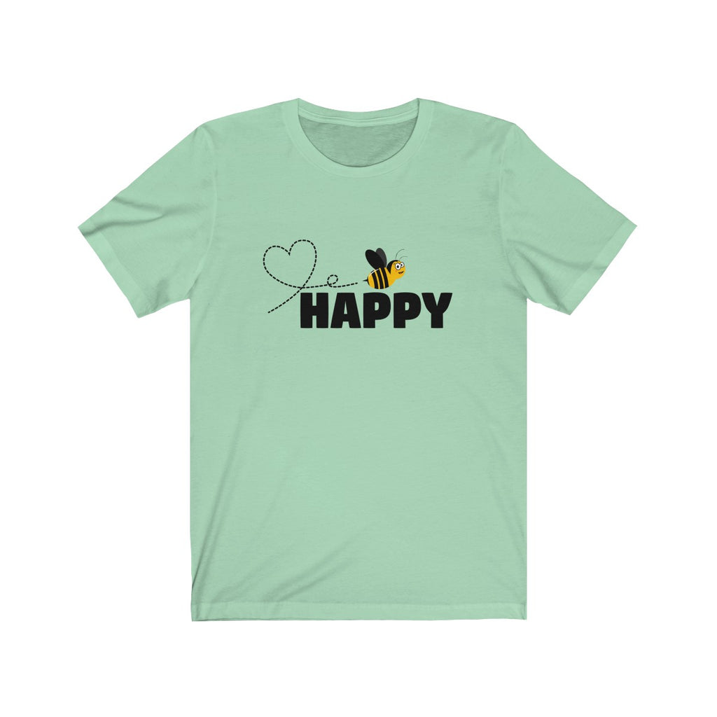 Bee Happy T Shirt - Honey Bee T-Shirt