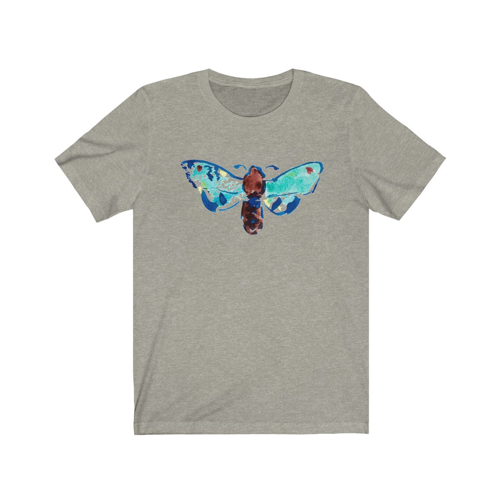 Blue Watercolor Butterfly T-Shirt - Unisex
