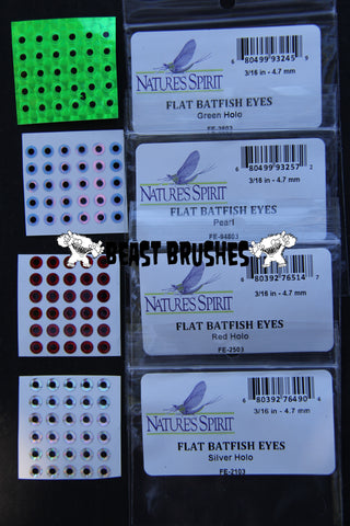 "Flat Stick on ""Batfish Eyes"" 4.7mm"