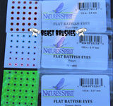 "Flat Stick On ""Batfish Eyes"" 3.1mm"
