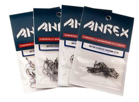 Ahrex NS150 Curved Shrimp Hook