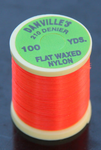 Danville's 210 Denier Flat Waxed Nylon Thread