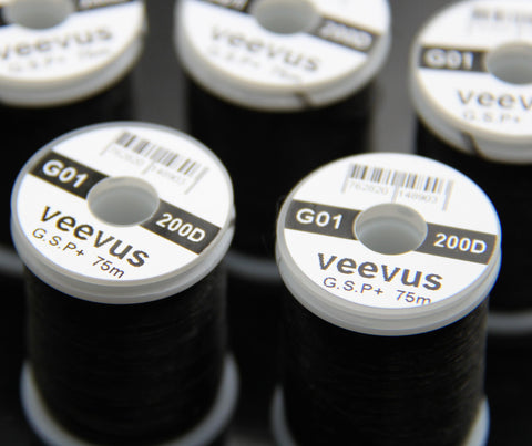 Veevus 200 Denier Thread Black