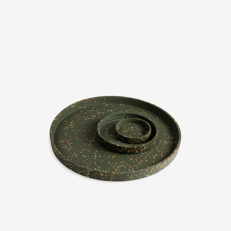 Capra Designs Terrazzo Tray - Agave - Tableware - Hunter Studio - New Zealand Lifestyle Store