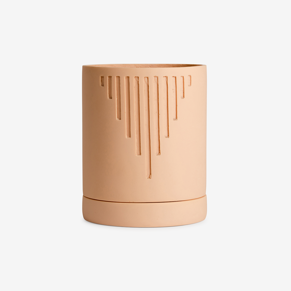 Capra Designs Etch Pot - Salt - Lifestyle - Hunter Studio - New Zealand Lifestyle Store
