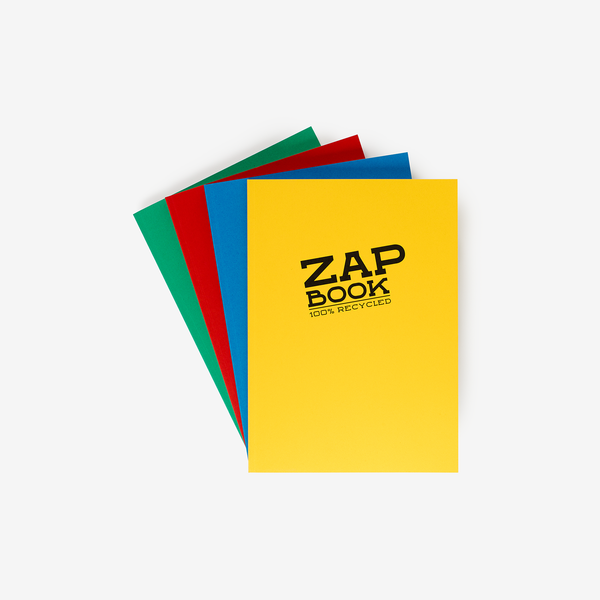 Clairefontaine Zap Book - A4 - Stationary - Hunter Studio - New Zealand Lifestyle Store
