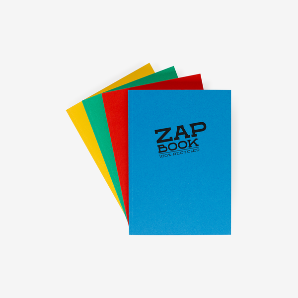 Clairefontaine Zap Book - A5 - Stationary - Hunter Studio - New Zealand Lifestyle Store