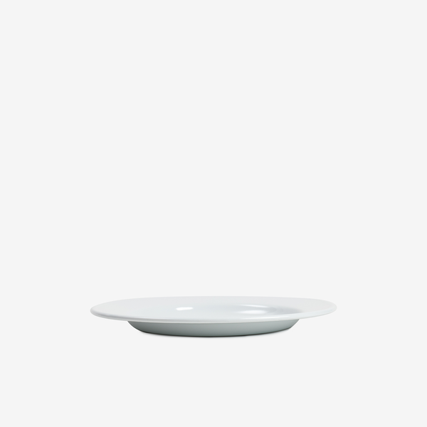 White Enamel Dinner Plate - 26cm - Enamelware - Hunter Studio - New Zealand Lifestyle Store
