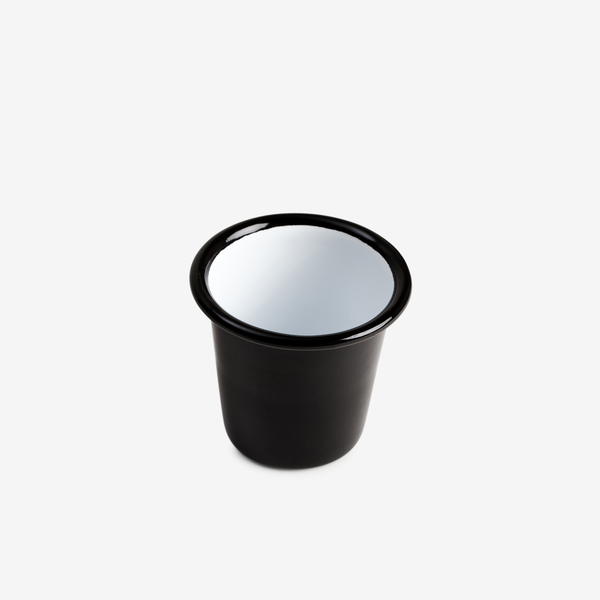 Black Enamel Mini Tumbler - Enamelware - Hunter Studio - New Zealand Lifestyle Store