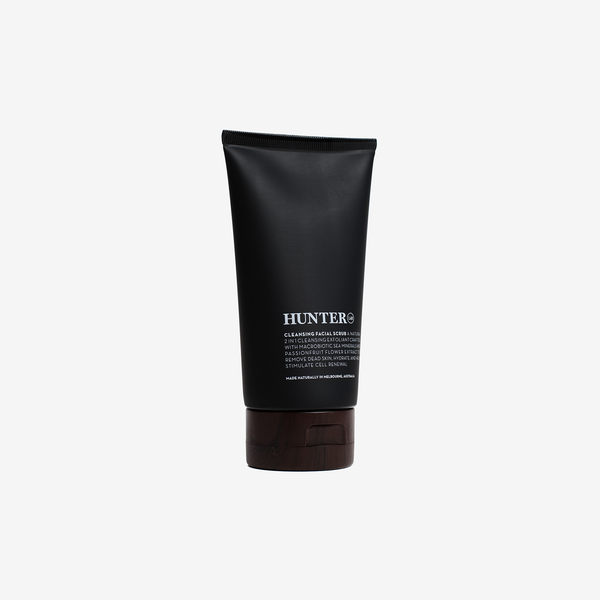 Hunter Lab Cleansing Facial Scrub - Grooming - Hunter Studio - New Zealand Lifestyle Store
