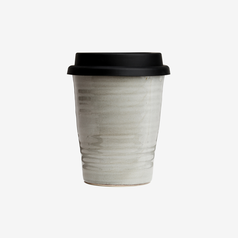 Carousel Ceramic Coffee Cup - Saltbush - Coffeeware - Hunter Studio - New Zealand Lifestyle Store