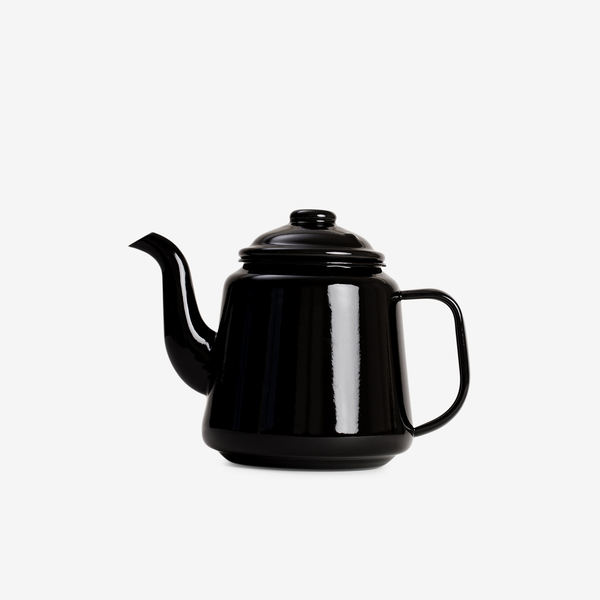 Black Enamel Teapot - Enamelware - Hunter Studio - New Zealand Lifestyle Store
